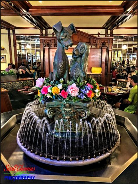 Disney Pic of the Week: Lady and the Tramp Water Fountain