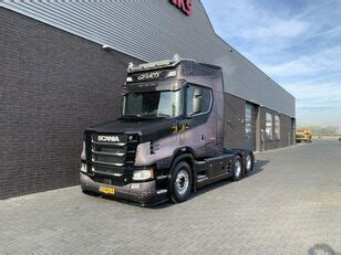 Autotractor SCANIA S 650 T 6X2 TRACTOR NEW TORPEDO NOSE