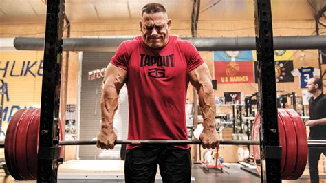 John Cena's Upper-Body Workout Routine | Muscle & Fitness