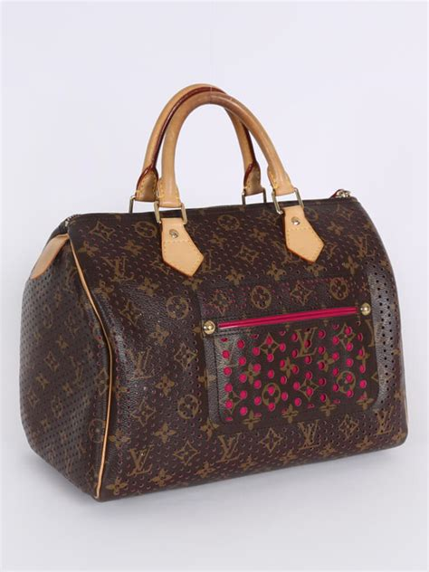 Louis Vuitton - Speedy 30 Perforated Pink Limited Edition