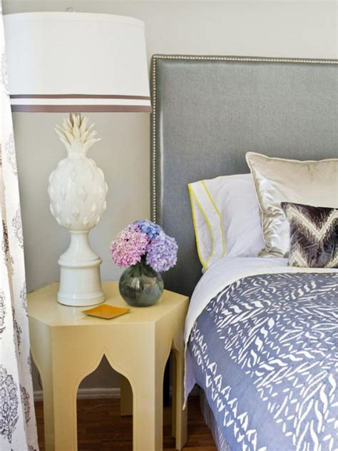 How to Upholster a No-Sew Headboard | HGTV