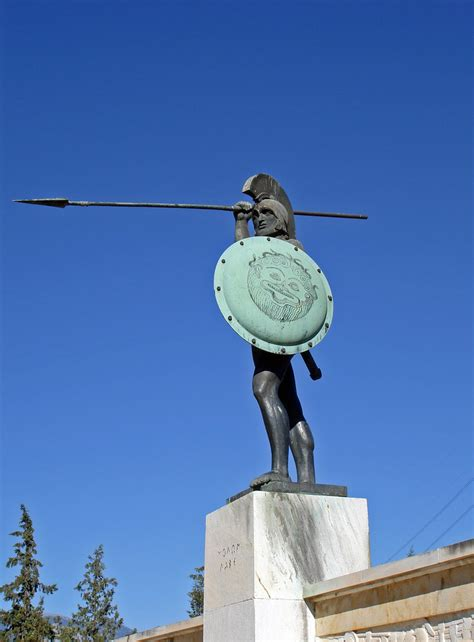 Thermopylae - Monument of Leonidas | In the Battle of