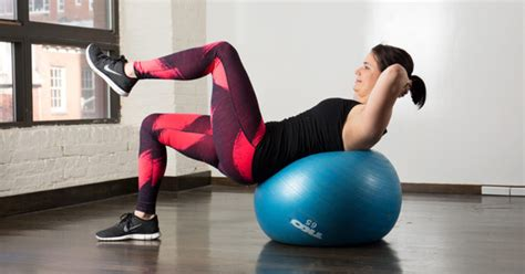 Yoga Ball Ab Workout: 10 Stability Ball Exercises for a