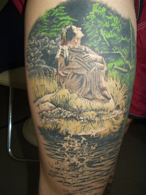 20+ Nice Forest Scenery Tattoos