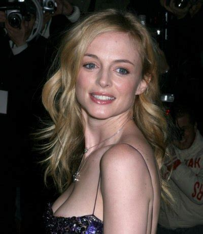 Heather Graham | Long hairstyle with shag type layers for