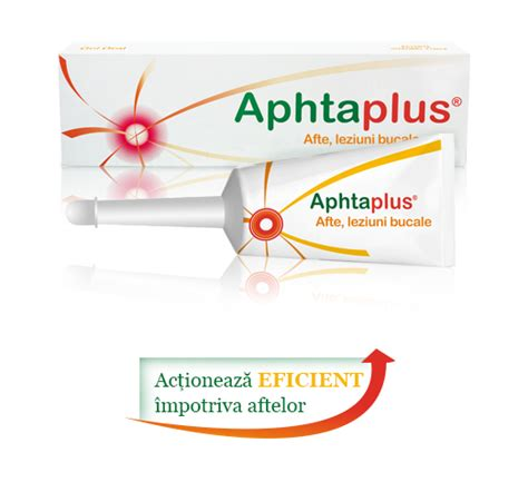 Aphtaplus – tratament impotriva aftelor bucale