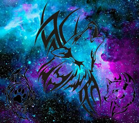 wolf galaxy wallpaper by ironwolf2503 - 16 - Free on ZEDGE™