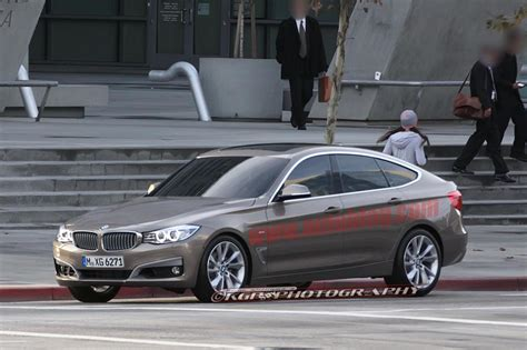 BMW 3 Series GT caught uncovered filming commercial - Autoblog