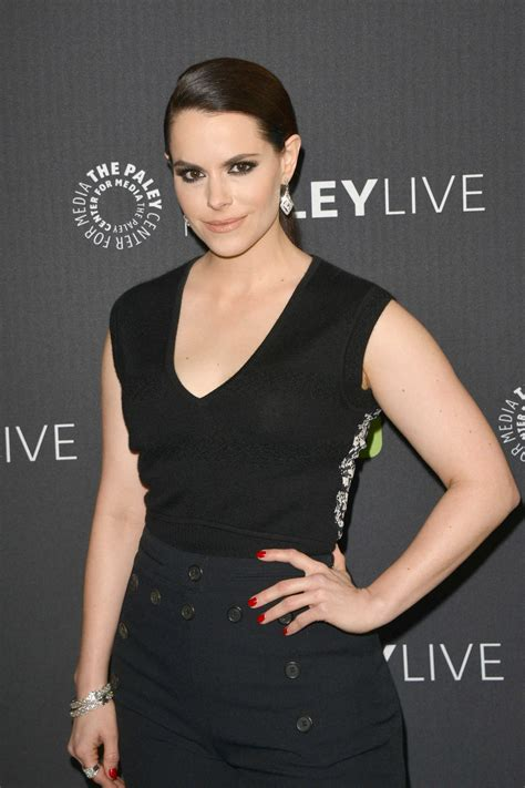 Emily Hampshire at 12 Monkeys Paley Center for Media in