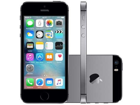 Apple Celular iPhone 5s 32gb A1457 4g Novo Lacrado - R$ 1