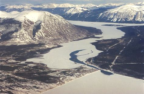 Carcross from the Air - Life on the Edge: Images of