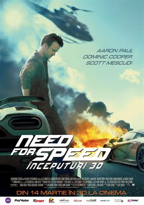 Need for Speed - Need for Speed: Începuturi (2014) - Film