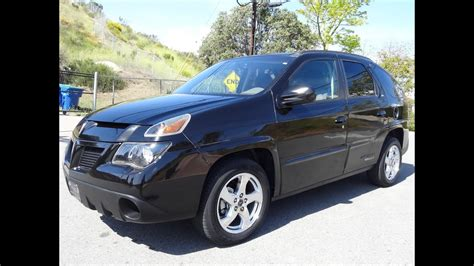 2005 Pontiac Aztek Rally Edition CUV GM Crossover SUV