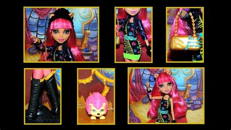 Monster High 13 Wishes Howleen Wolf Doll Review - YouTube
